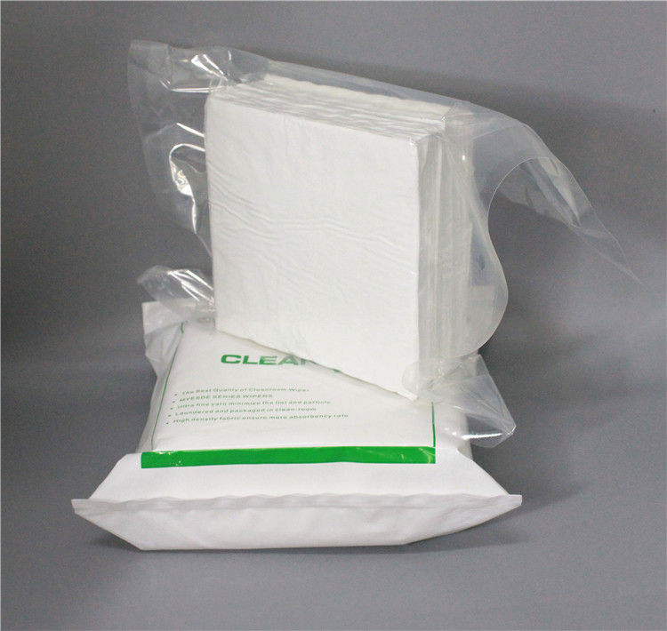 Cleaning Wiper Cleanroom polyester Microfiber Wiper Cleanroom Lint Free Polyester Wipes